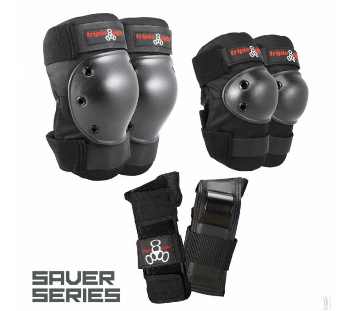 Комплект защиты Triple8 Saver Series 3-Pack popup_0