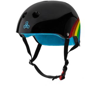 Шолом Triple8 Black Rainbow Sparkle item_2