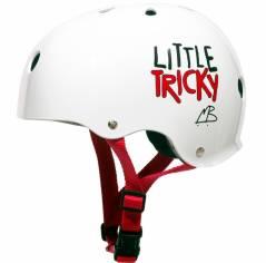 Шолом для роликів дитячий Triple8 Little Tricky White Glossy