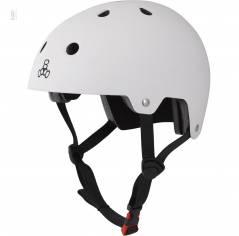 Шлем Triple8 The Certified Sweatsaver Helmet White Rubber