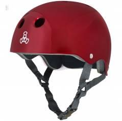 Шлем для велосипеда Triple8 Standard Helmet Red Metallic