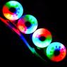 Светящиеся колеса для роликовых коньков Puyee разноцветные item
