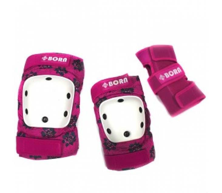 Защита для роликов женская BORN Pink popup