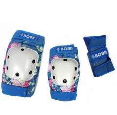 Защита для роликов BORN Blue