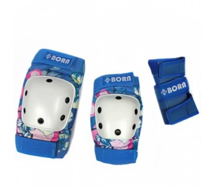 Защита для роликов BORN Blue popup