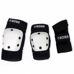Защита для роликов BORN Black