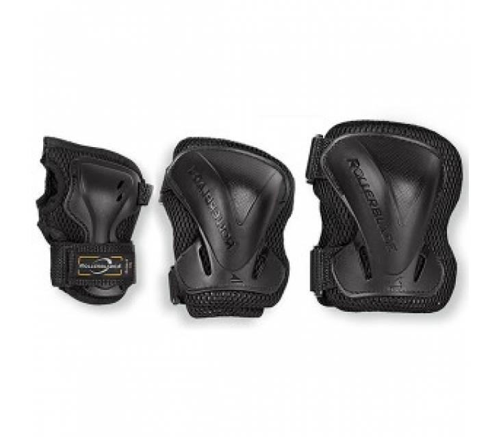 Защита для роликов мужская Rollerblade EVO Gear 3pack popup