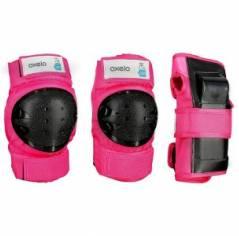 Защита для роликов Oxelo Защита Oxelo Basic Pink